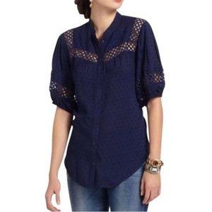 Edme & Esyllte Anthropologie Swiss Spritz blouse 4